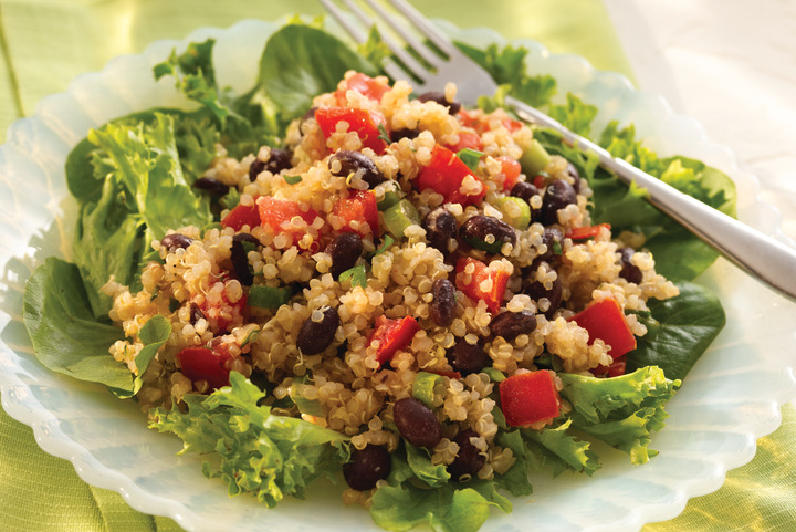 Black Bean & Quinoa Salad | S&W Beans Recipe