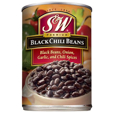 S&W Black Chili Beans