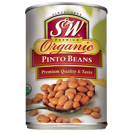 S&W Organic Pinto Beans