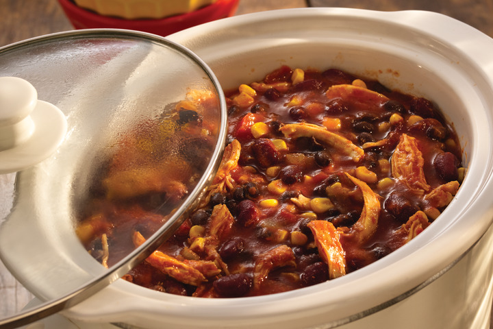 Slow Cooker Chicken Taco Chili | S&W Beans Recipe