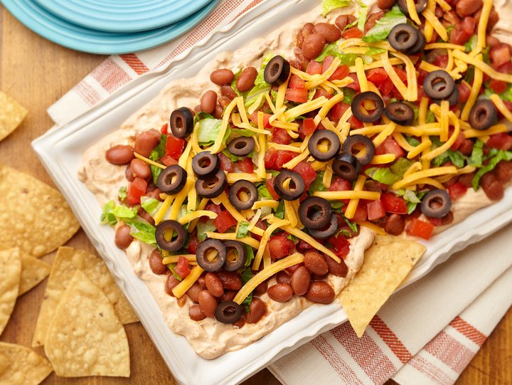 Easy Layered Taco Dip