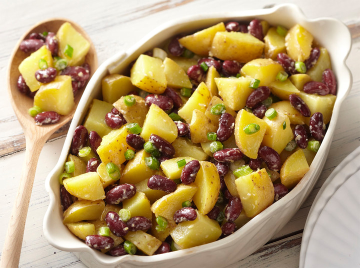 Potato Red Kidney Beans Salad | Room Kid